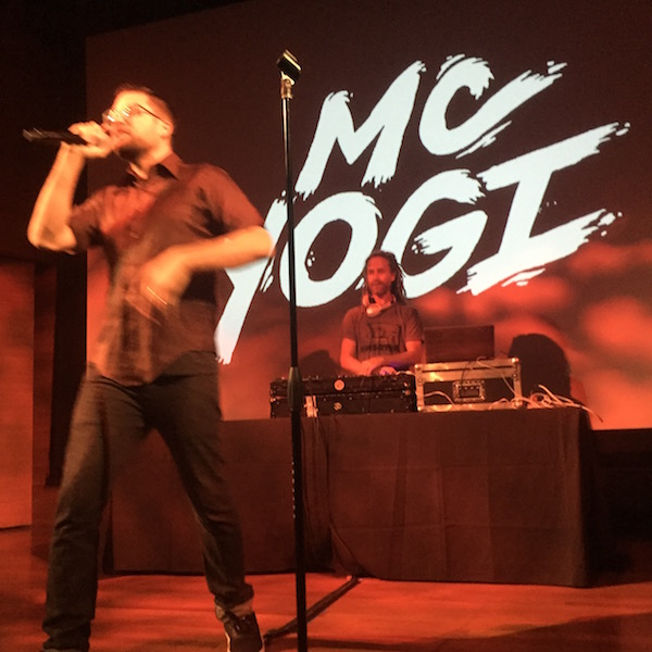 MC Yogi represents the truth that Only Love Is Real
