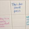 bathroom wall affirmations