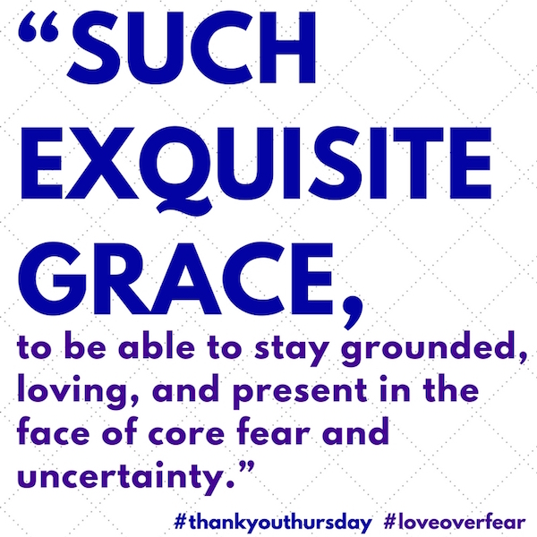 exquisite grace keeps everything afloat