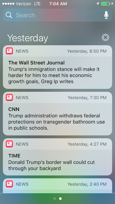 Trump news alerts require yoga nidra