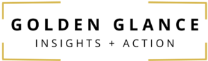 Golden Glance Insights + Action logo