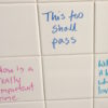bathroom wall affirmations
